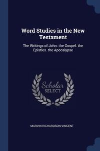 Word Studies in the New Testament: The Writings of John. the Gospel. the Epistles. the Apocalypse, Marvin Richardson Vincent обложка-превью