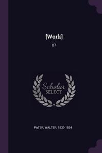 [Work]: 07, Walter Pater обложка-превью