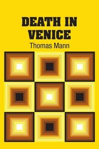 Death In Venice, Thomas Mann обложка-превью