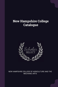 Книга под заказ: «New Hampshire College Catalogue»