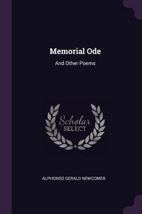 Книга под заказ: «Memorial Ode»