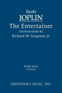 The Entertainer - Study score, Scott Joplin, Richard W. Sargeant обложка-превью