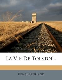 La Vie de Tolstoi..., Romain Rolland обложка-превью