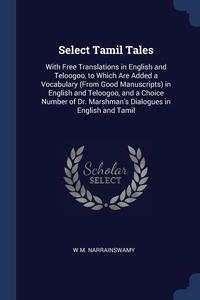 Книга под заказ: «Select Tamil Tales»