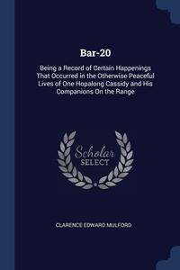 Книга под заказ: «Bar-20»
