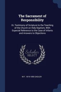 Книга под заказ: «The Sacrament of Responsibility»