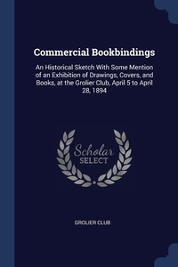 Книга под заказ: «Commercial Bookbindings»