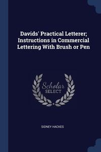 Книга под заказ: «Davids' Practical Letterer; Instructions in Commercial Lettering With Brush or Pen»