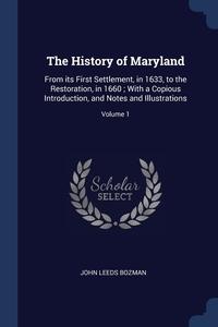 Книга под заказ: «The History of Maryland»