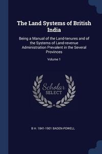 Книга под заказ: «The Land Systems of British India»