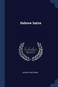 Книга под заказ: «Hebrew Satire»