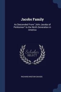 Книга под заказ: «Jacobs Family»