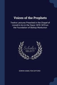 Книга под заказ: «Voices of the Prophets»