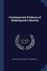 Книга под заказ: «Contemporary Evidence of Shakespeare's Identity»