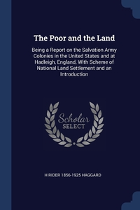 Книга под заказ: «The Poor and the Land»
