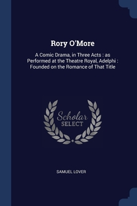 Книга под заказ: «Rory O'More»