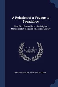 Книга под заказ: «A Relation of a Voyage to Sagadahoc»
