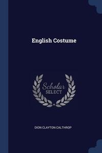 Книга под заказ: «English Costume»