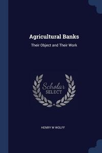 Книга под заказ: «Agricultural Banks»