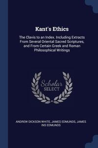Книга под заказ: «Kant's Ethics»