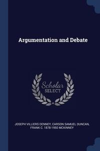 Книга под заказ: «Argumentation and Debate»
