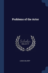 Книга под заказ: «Problems of the Actor»