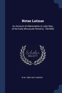 Книга под заказ: «Notae Latinae»
