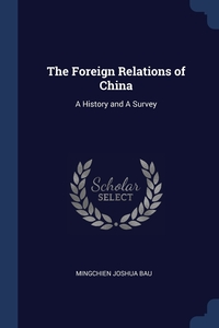 Книга под заказ: «The Foreign Relations of China»