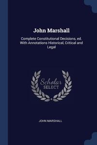Книга под заказ: «John Marshall»