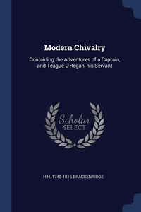 Книга под заказ: «Modern Chivalry»