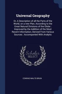 Книга под заказ: «Universal Geography»