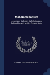 Книга под заказ: «Mohammedanism»