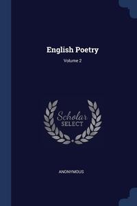 Книга под заказ: «English Poetry; Volume 2»