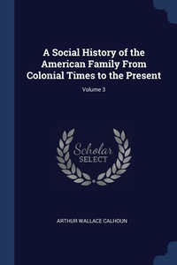 Книга под заказ: «A Social History of the American Family From Colonial Times to the Present; Volume 3»