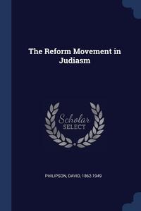 Книга под заказ: «The Reform Movement in Judiasm»