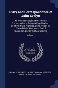 Книга под заказ: «Diary and Correspondence of John Evelyn»