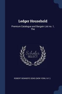 Книга под заказ: «Ledger Household»
