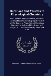 Книга под заказ: «Questions and Answers in Physiological Chemistry»