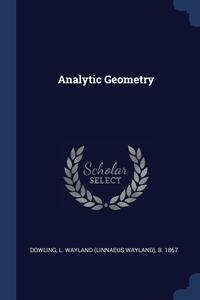 Книга под заказ: «Analytic Geometry»