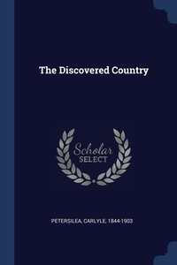 Книга под заказ: «The Discovered Country»