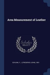 Книга под заказ: «Area Measurement of Leather»