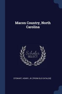 Книга под заказ: «Macon Country, North Carolina»