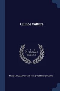 Книга под заказ: «Quince Culture»
