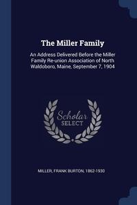 Книга под заказ: «The Miller Family»