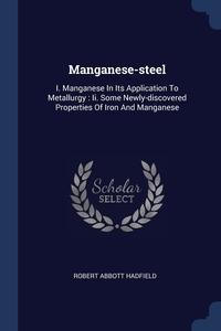 Книга под заказ: «Manganese-steel»