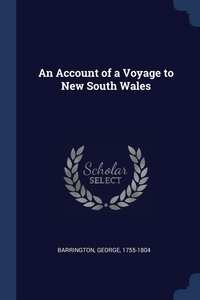 Книга под заказ: «An Account of a Voyage to New South Wales»