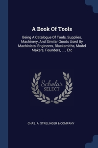 Книга под заказ: «A Book Of Tools»