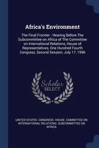 Книга под заказ: «Africa's Environment»