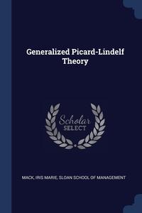 Книга под заказ: «Generalized Picard-Lindelf Theory»