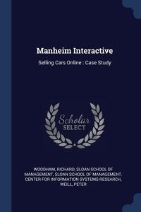 Книга под заказ: «Manheim Interactive»